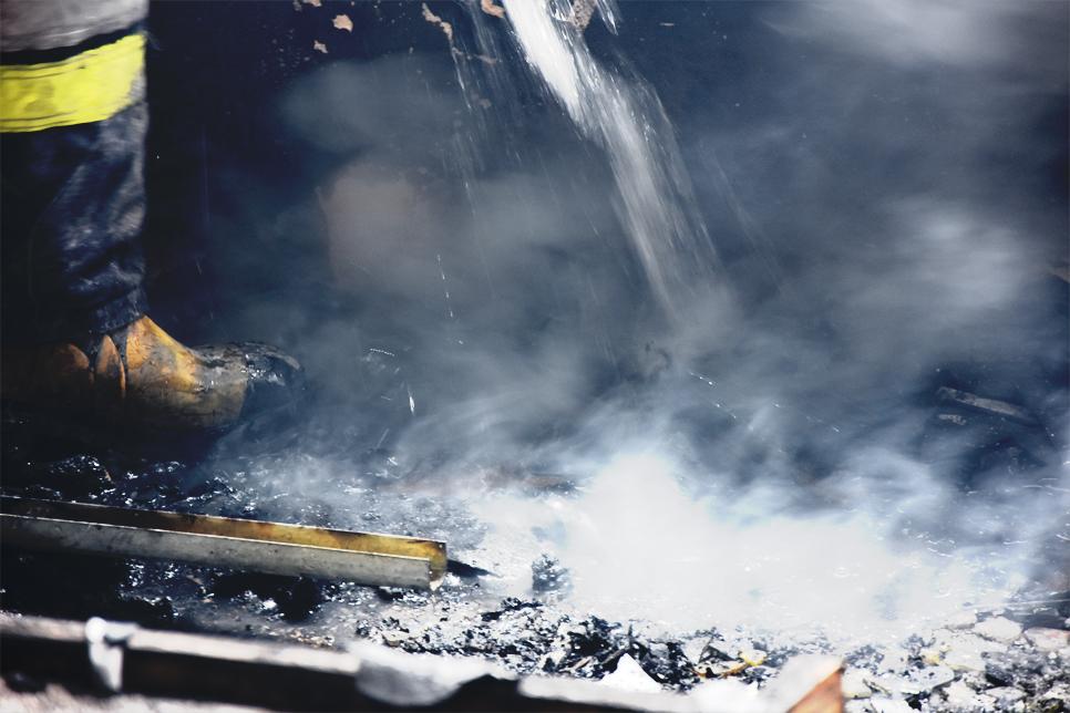 Czy jesteśmy bezpieczni? Relacja z pierwszego pożaru testowego w Sosnowcu