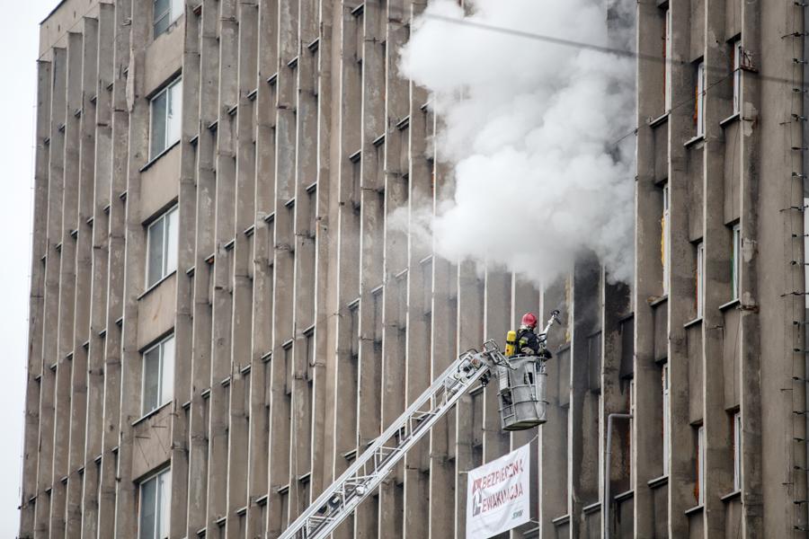 Czwarta próba badawcza – pożar kontrolowany ilością napływającego powietrza